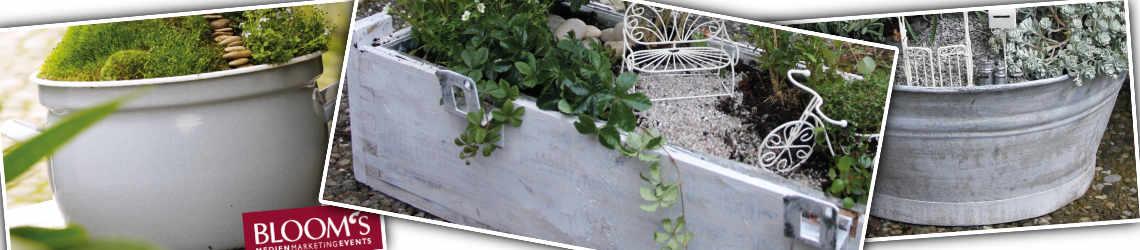 Mini Garten Shop Pflanzgefäße
