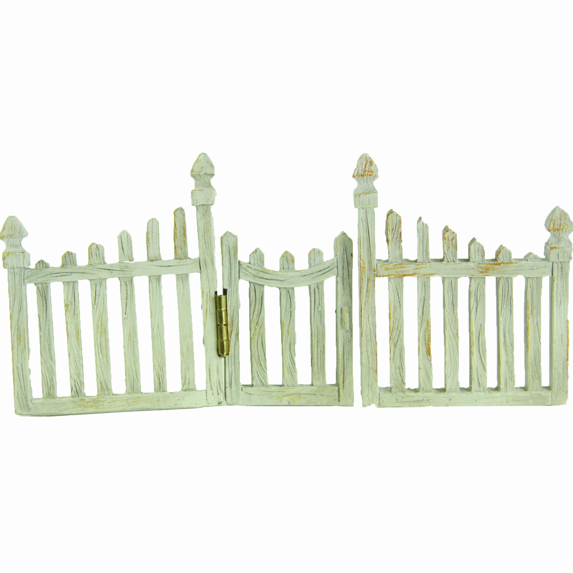 Mini Garten Shop Zaun mit Tür klein